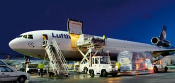 Luchtvracht Van Thiel Transport